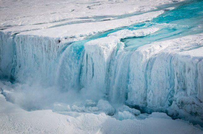 Льодовик Ларсена З швидко відколеться від Антарктиди / фото esa.int