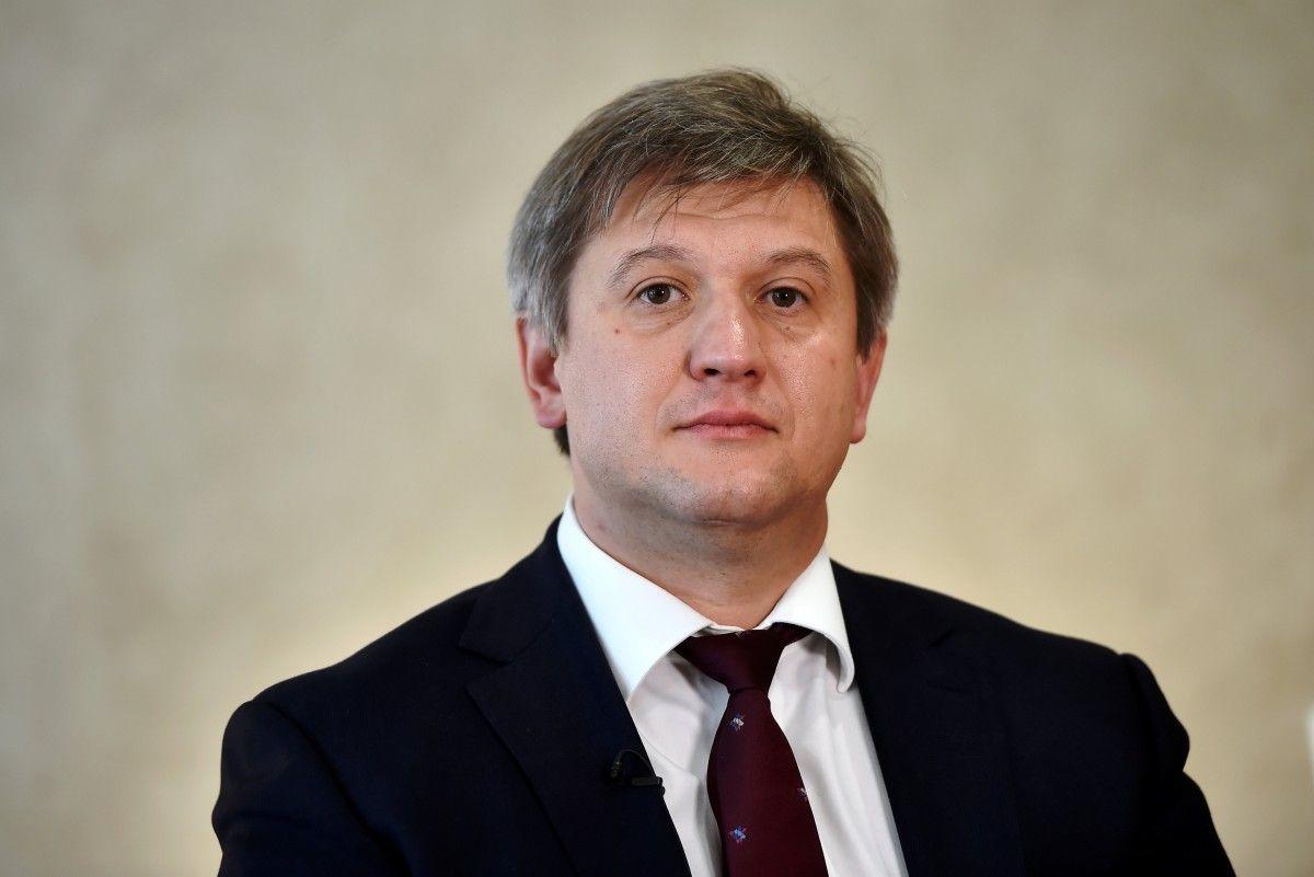Глава Мінфіну України Олександр Данилюк / фото REUTERS