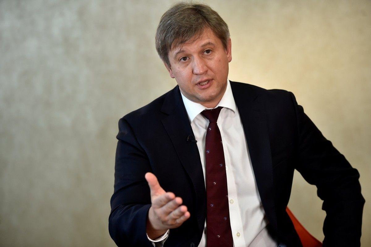 Глава Минфина Александр Данилюк / REUTERS