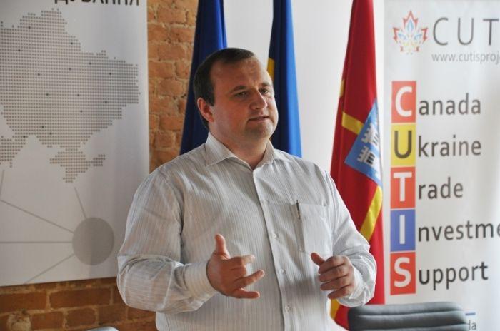 В Житомире провели тренинг для предпринимателей / Житомирская ОГА