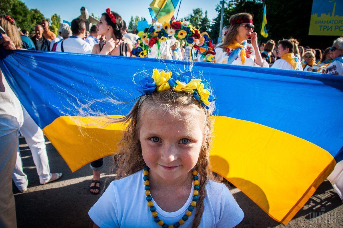 Сегодня украинцы отмечают День государственного флага / фото УНИАН
