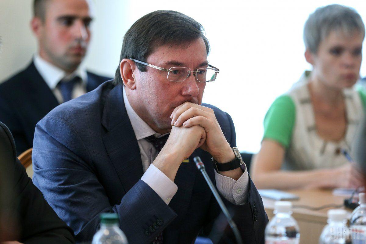 За время пребывания Луценко на посту генпрокурора проколов у него было больше, чем успехов / фото УНИАН