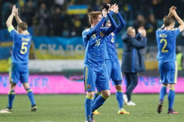 Україна піднялась на12 позицій урейтингу ФІФА