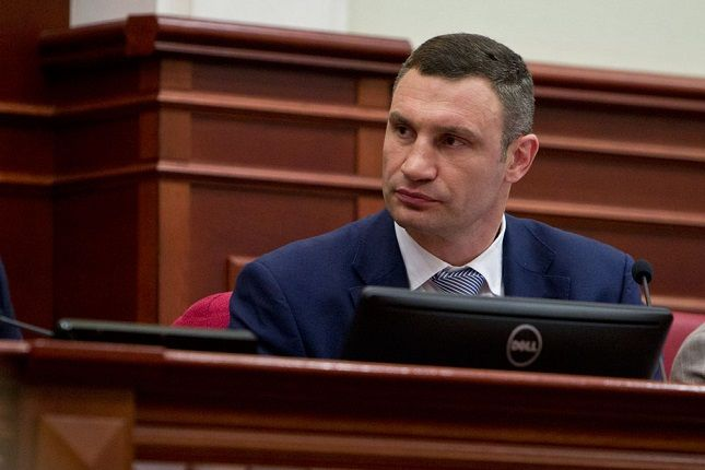 Кличко также призвал депутатов поддержать создание муниципальной охраны / фото КГГА