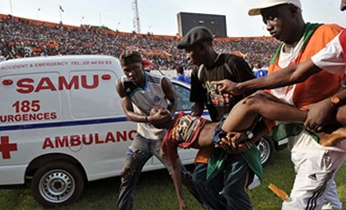 Восемь человек погибли в итоге давки настадионе вМалави