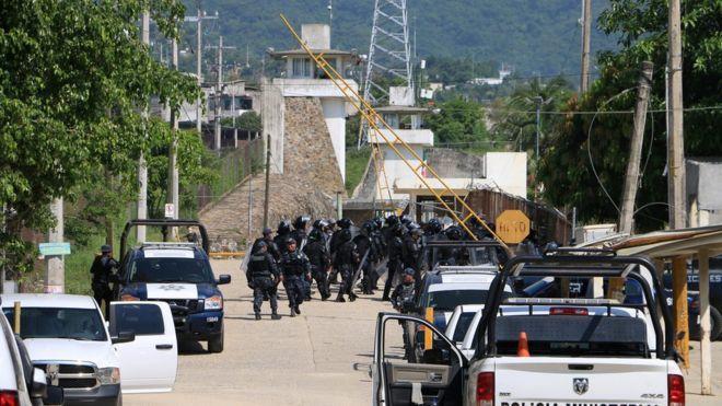 При беспорядках втюрьме Акапулько вМексике погибли 28 человек