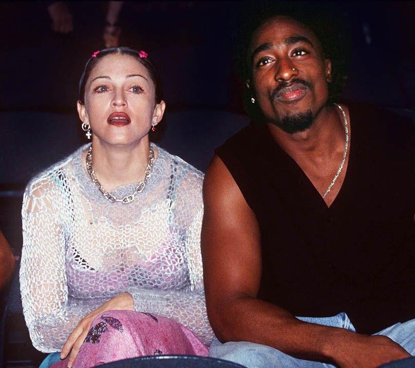 У Мадонны и Тупака был короткий, но бурный роман / фото afrifame.bi