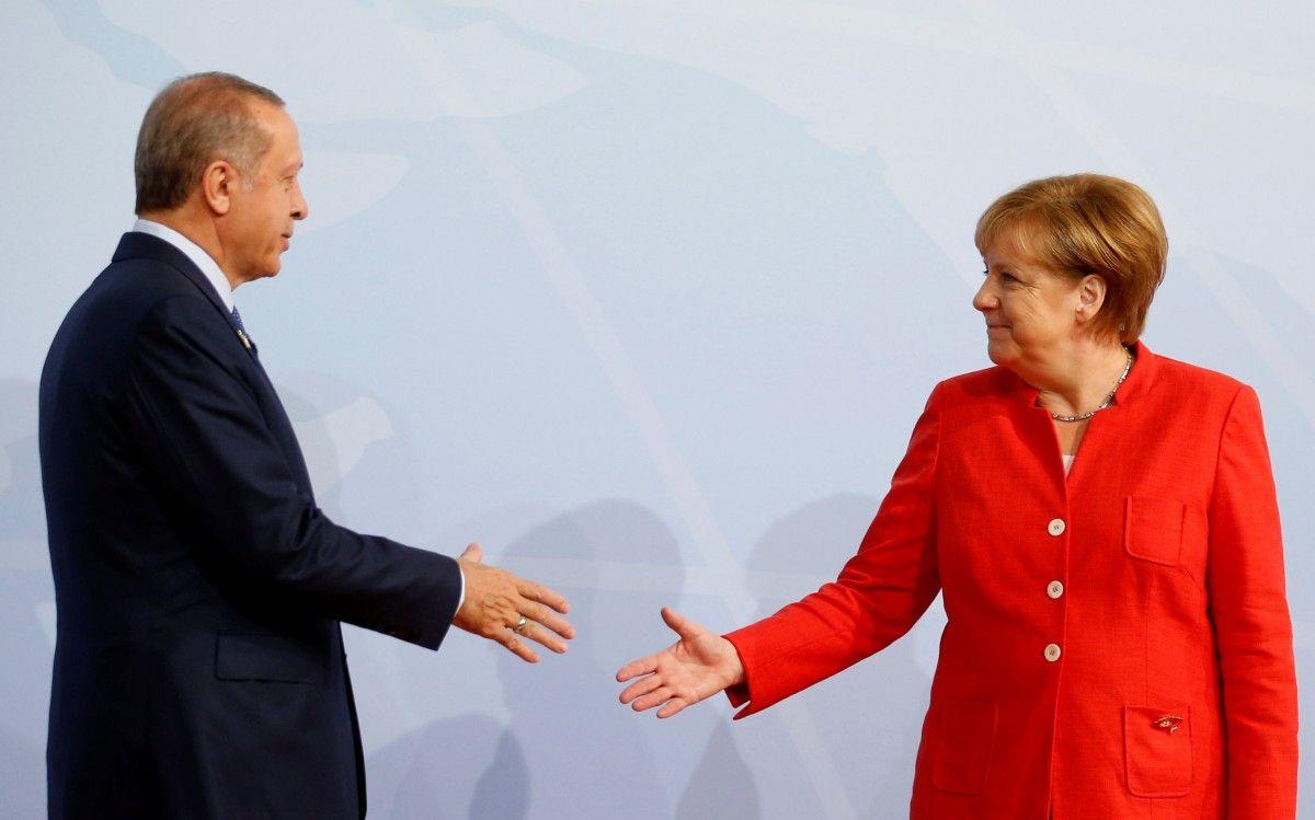 Раджеп Таїп Ердоган і Ангела Меркель / REUTERS