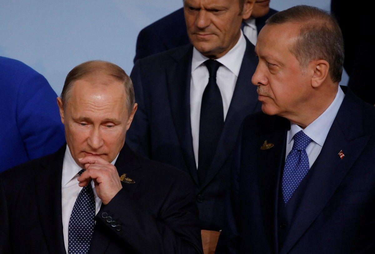 Володимир Путін і Раджеп Таїп Ердоган / REUTERS
