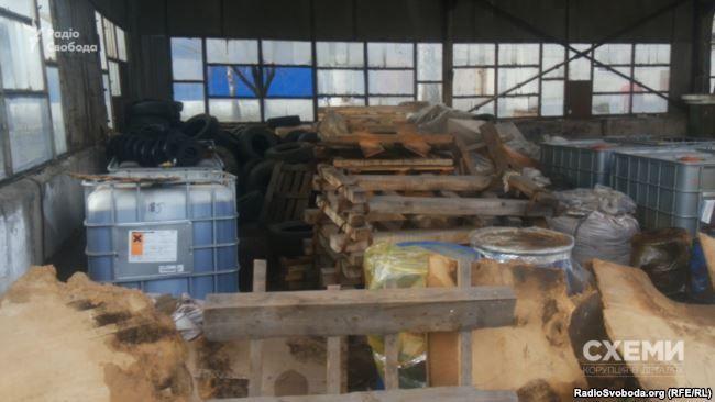 Часть складских помещений