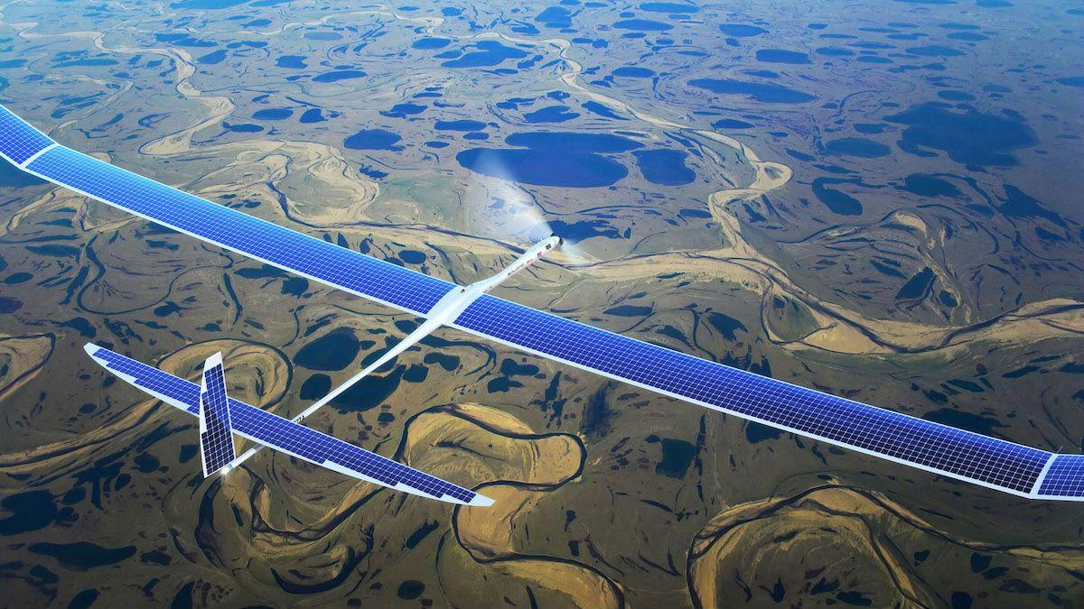 Для своєї роботи дрон використовує сонячну енергію / скріншот УНІАН