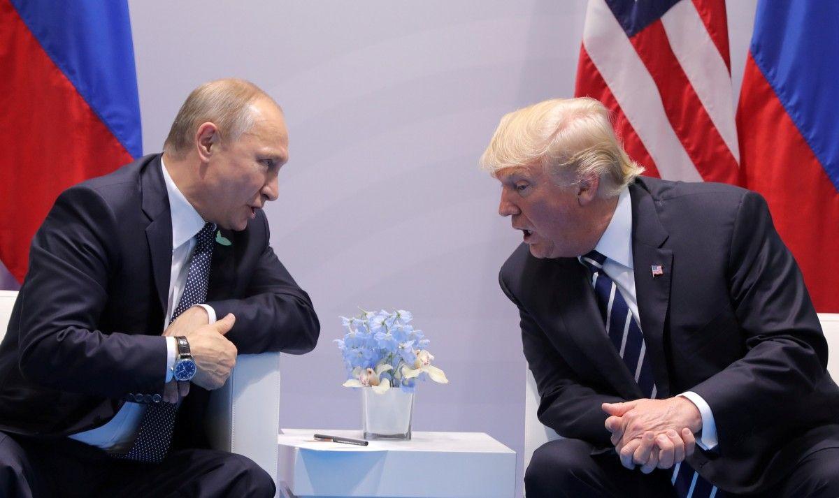 Встреча Владимира Путина и Дональда Трампа / REUTERS