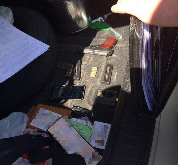 изъят один травматический и один газовый пистолеты / фото ssu.gov.ua