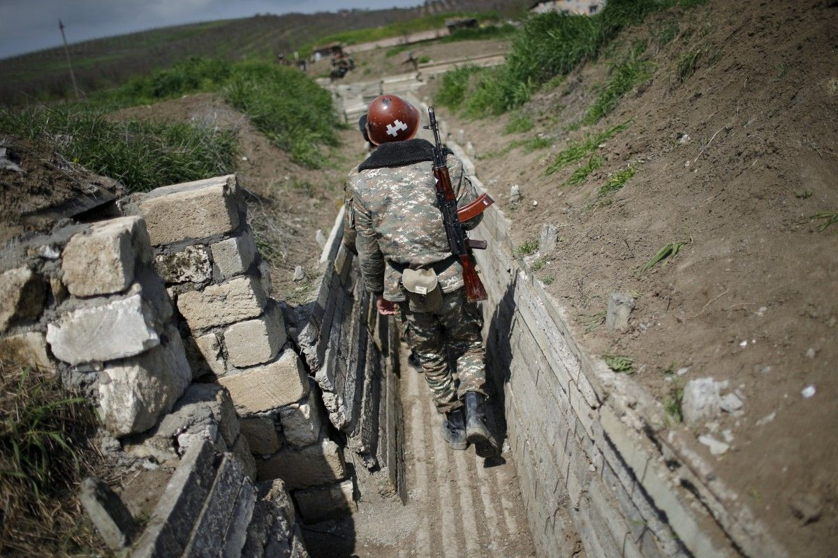 Россия и Турция могут вступить в войну в Нагорном Карабахе / REUTERS