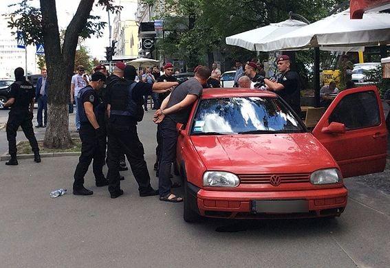 Попытка нападения напосольство Польши вКиеве: вСБУ сказали детали