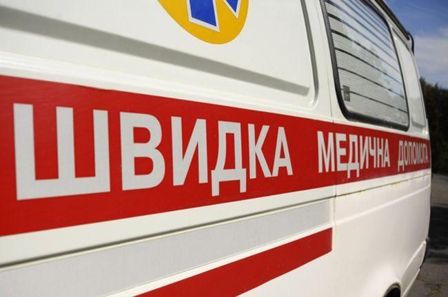 В результате несчастного случая женщина получила перелом лучевой кости и рану головы / Фото: dpchas.com.ua