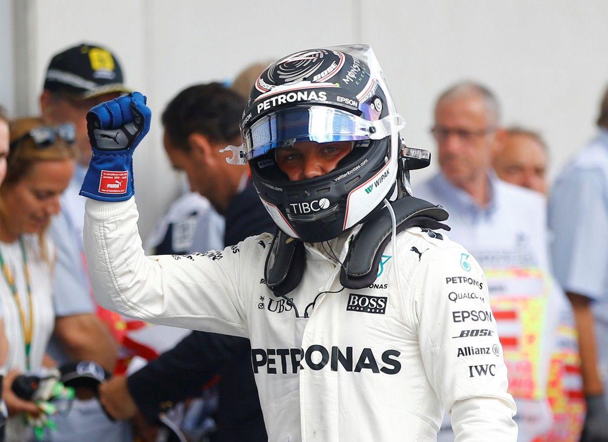 Валттери Боттас выиграл квалификацию Гран-при Австрии / Reuters