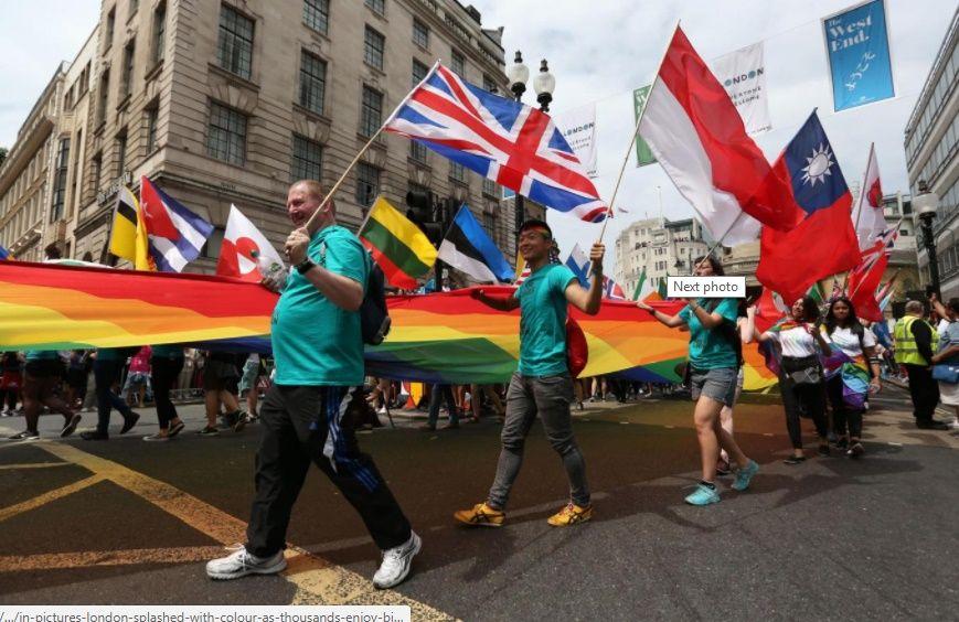 Более 26 тысяч человек участвовали в параде / фото Evening Standard