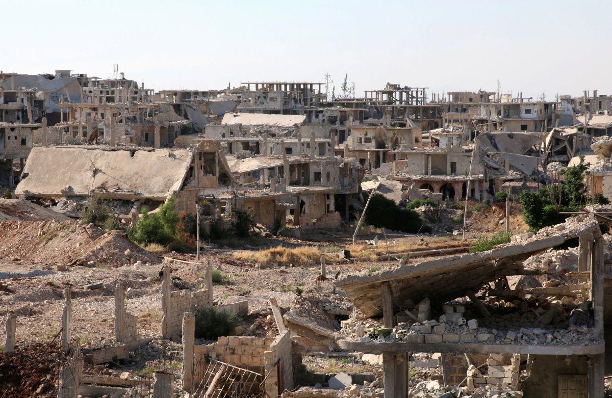 Наслідки бойових дій в Сирії, ілюстрація / REUTERS