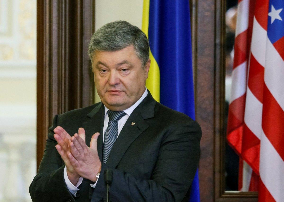 Петро Порошенко / фото REUTERS