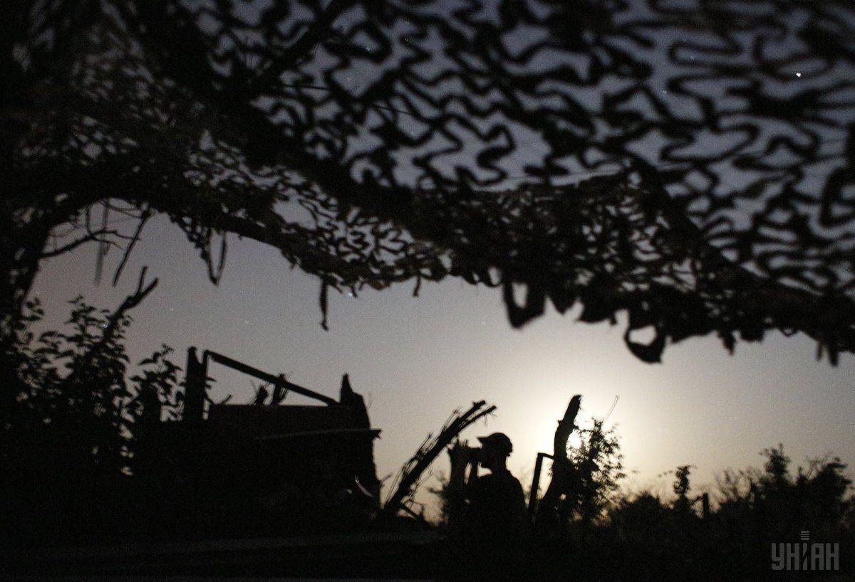 Російські окупаційні війська вели прицільний вогонь / фото УНІАН