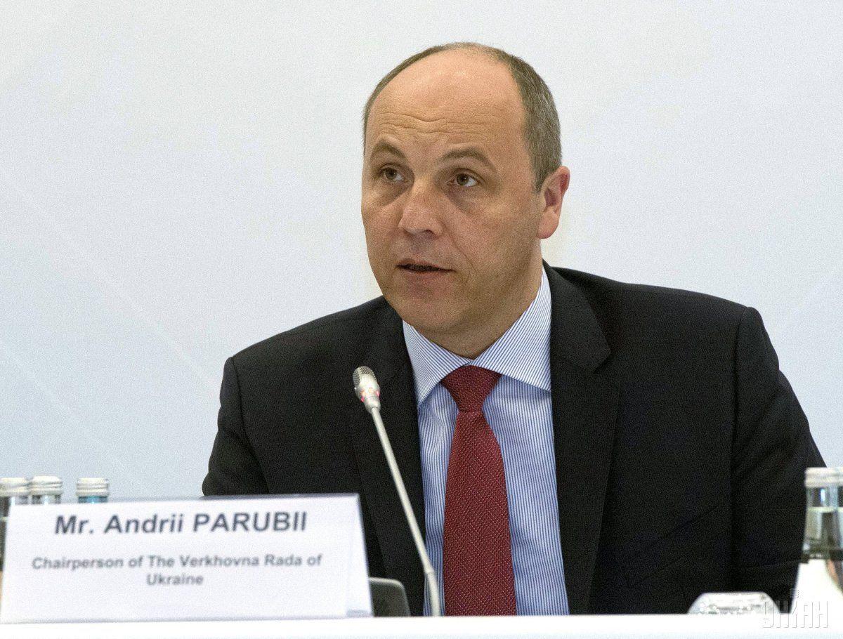 Парубий передал представление в отношении Дунаева в профильныйкомитет \ фото УНИАН