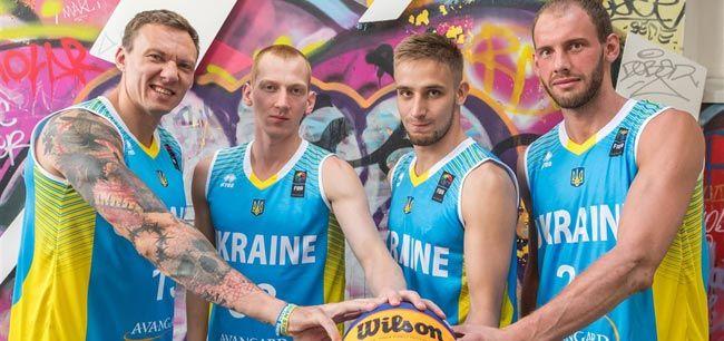 Сборная Украины по баскетболу 3х3 - бронзовый призер Евро / fiba.com
