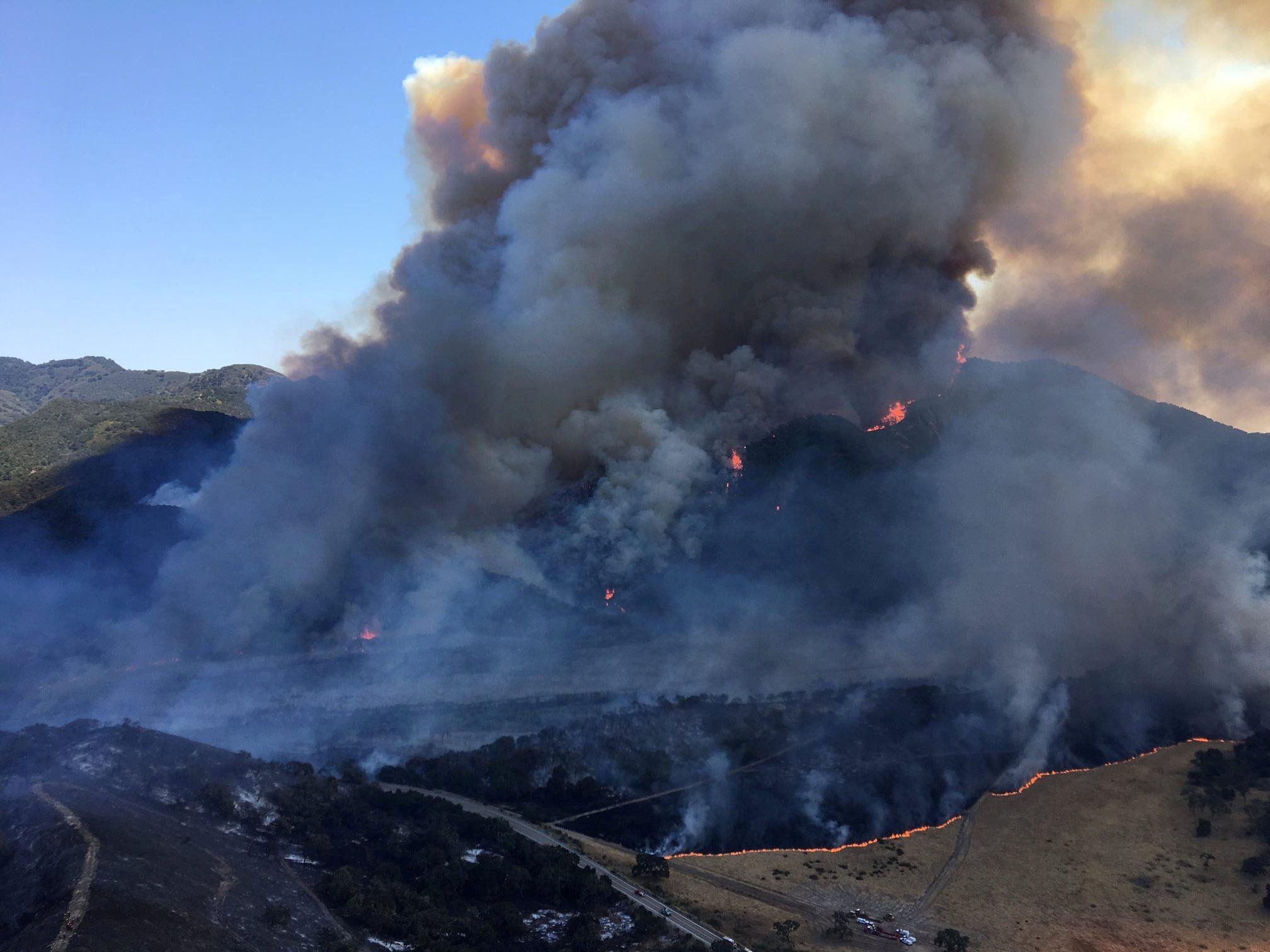 Внаслідок пожежі у Каліфорнії було евакуйовано близько 8 тисяч людей / REUTERS