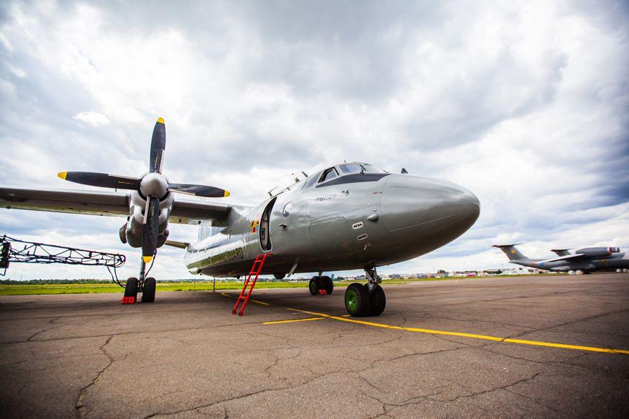 В Украине выставили на продажу самолеты Ан-26, которыене летали уже 10 лет / Иллюстрация - фото ngu.gov.ua