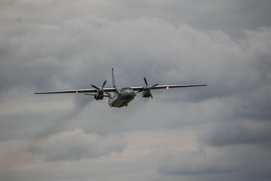 Самолет Ан-26 / фото ngu.gov.ua