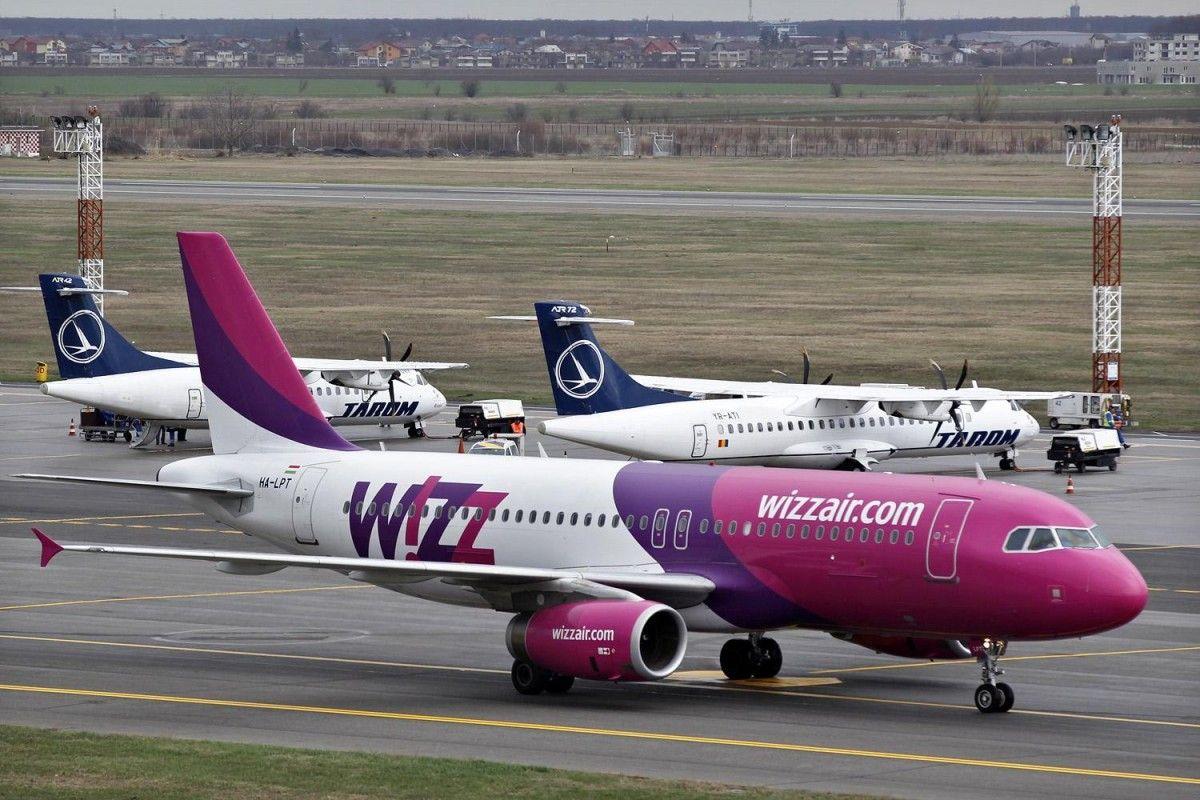 Wizz Air ввела недорогие билеты для украинских пассажиров отмененных рейсов Ryanair