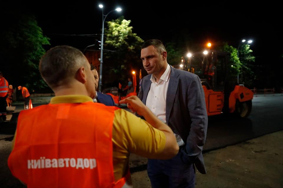 На кожну капітально відремонтовану дорогу в столиці підрядник дає 5 років гарантії / Фото kievcity.gov.ua