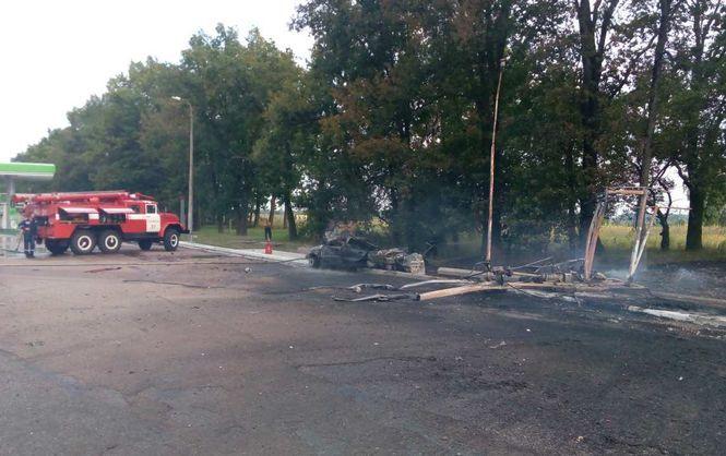 УКиївській області стався вибух наАЗС, є жертви