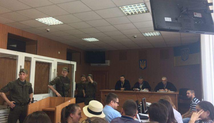 Суд над обвинуваченим у вбивстві українського спортсмена Лащенко / УСИ