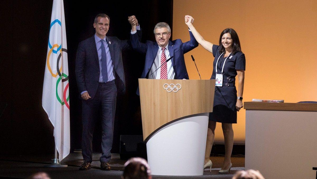 Париж и Лос-Анджелес утверждены в качестве столиц двух следующих летних Олимпиад / IOC