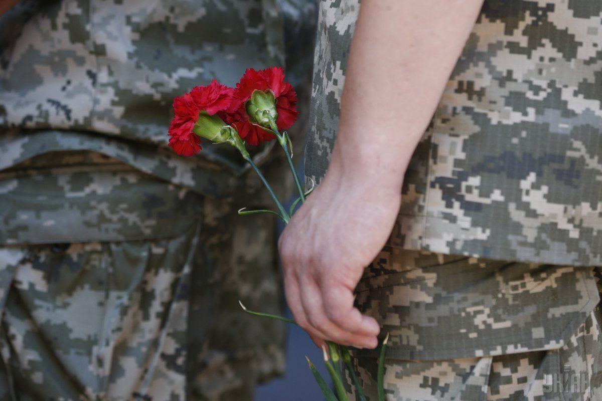 На Донбасі загинув український військовий / фото УНІАН