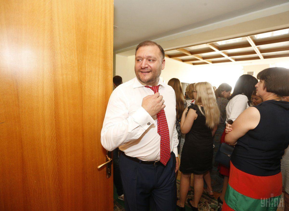 Добкин сдал вГПУ все свои загранпаспорта ипрошел допрос