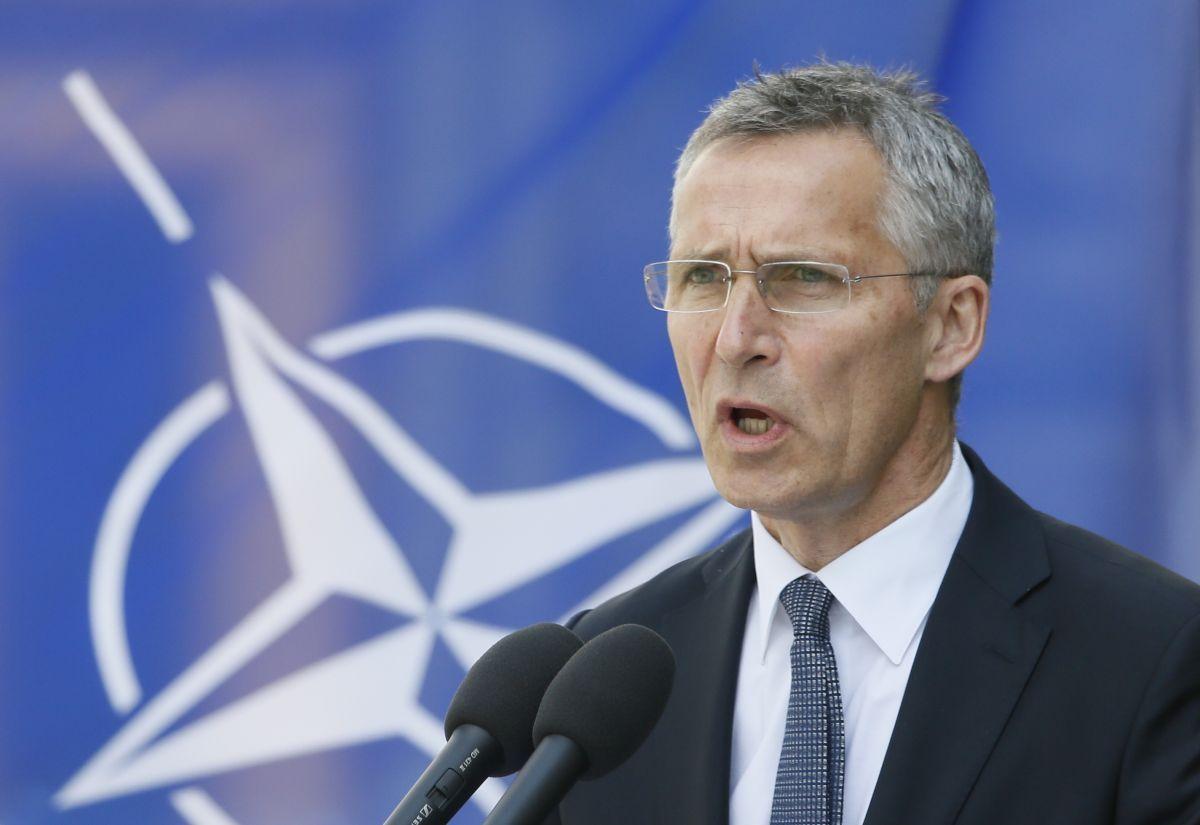 Генсек НАТО Йенс Столтенберг / REUTERS