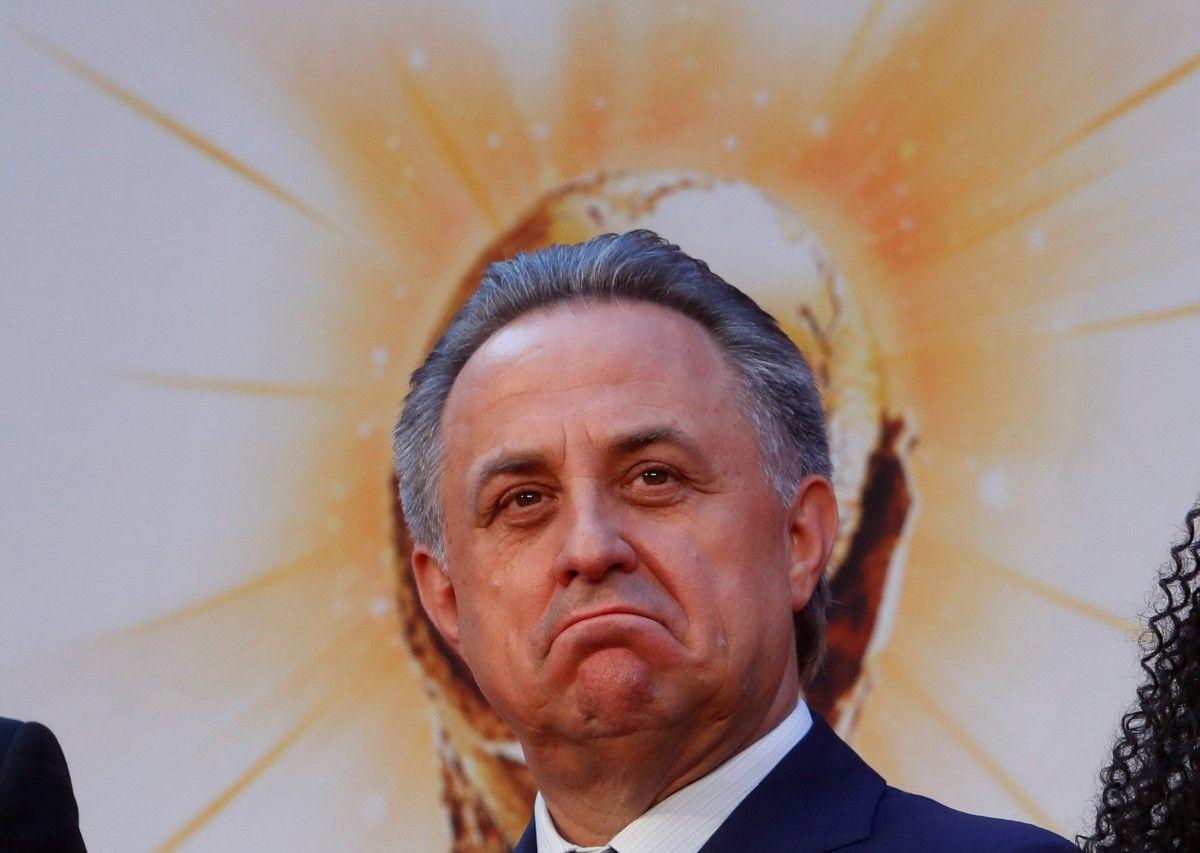 Русский вице-премьер Мутко пожелал сборной Украины удачи вотборе наЧМ