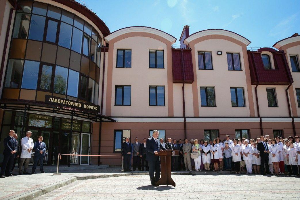 У Тернополі відкрили відреконструйований за 34 млн грн радіологічний корпус  обласної лікарні. Як передає кореспондент УНІАН 57ec000ad5ef6