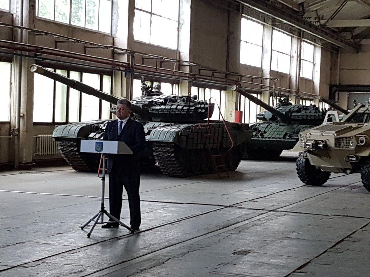 Львовский бронетанковый завод должен получить около миллиарда гривен / twitter.com/STsegolko