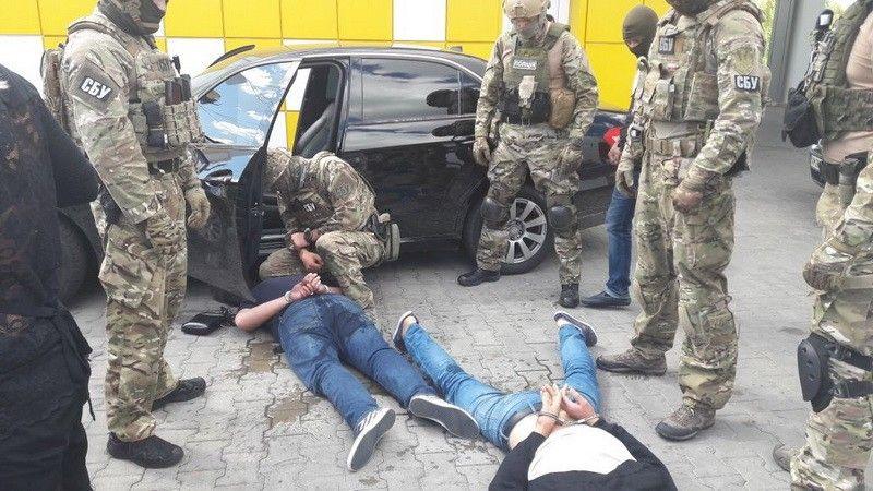 фото пресс-група УСБ Украины  в Житомирской областе