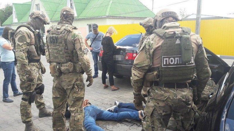 Фото пресс-группа УСБ Украины в Житомирской областе