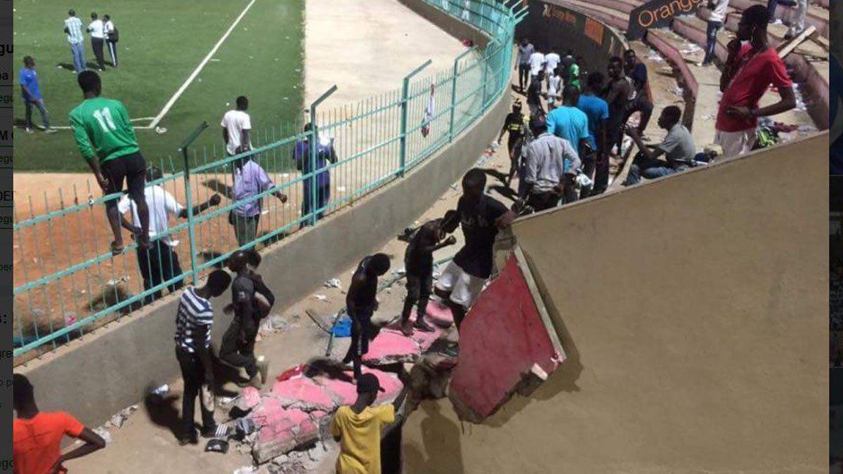 """Результат пошуку зображень за запитом """"Картинки Під час футбольного матчу в Сенегалі загинули вісім чоловік"""""""