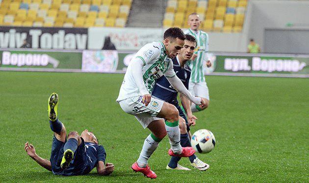 Чачуа забил первый гол в чемпионате УПЛ сезона 2017/18 / Football.ua