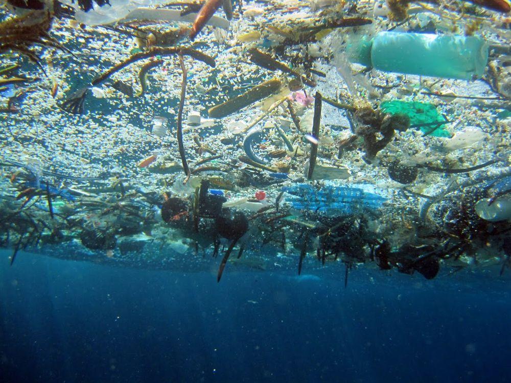 Пляма не виглядає як «сміттєвий острів» / Фото noaa.gov