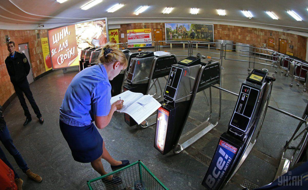 Минрегион предлагает устанавливать в метро датчики обнаружения ЧС / фото УНИАН