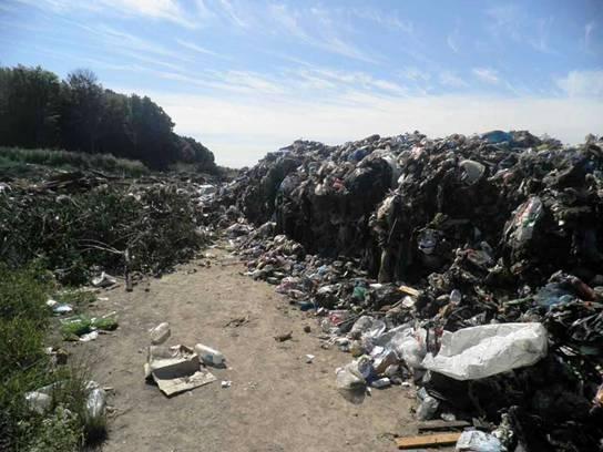 Одещина. Питання несанкціонованих сміттєзвалищ не вирішується роками