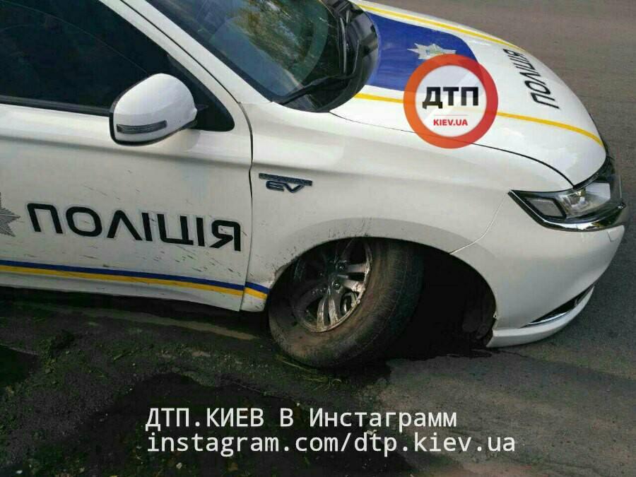 В результаті аварії ніхто не постраждав / Фото facebook.com/dtp.kiev.ua