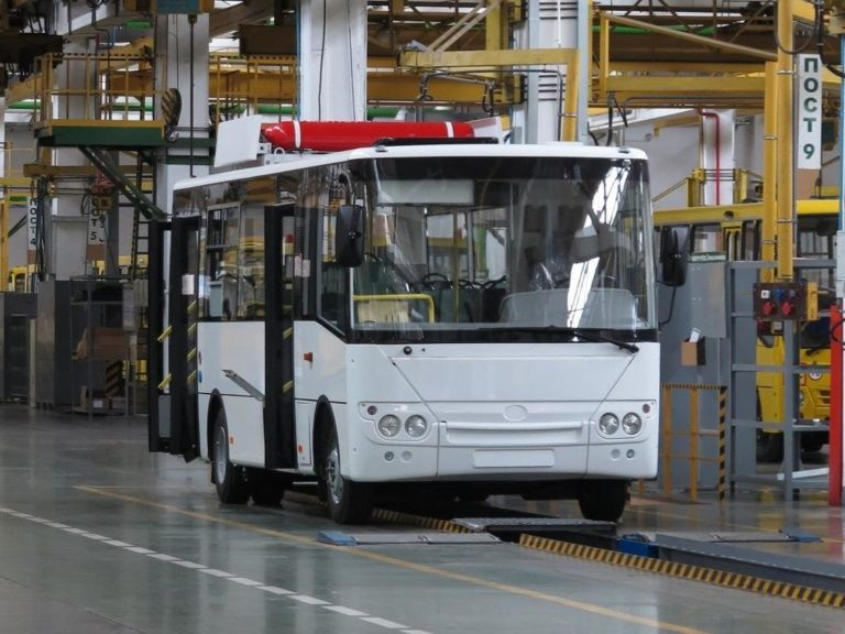 Bogdan Motors launches mass production of buses with gas engines